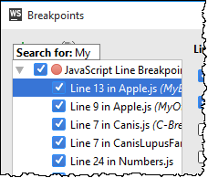 ws breakpoint search