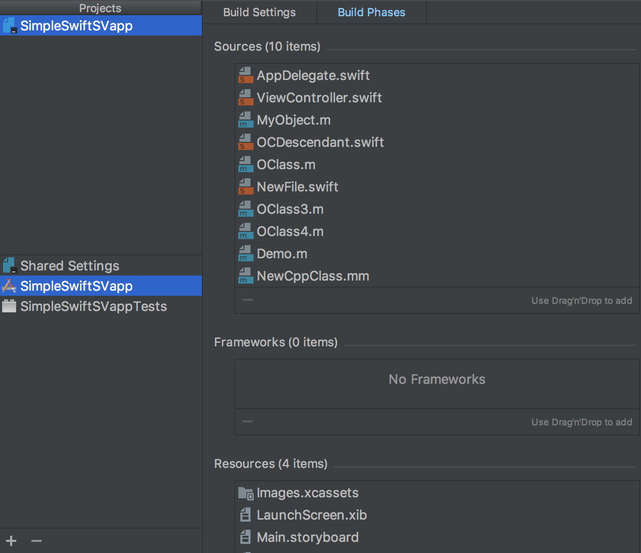 AppCode XcodeCompatibleProjectSettings