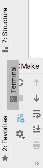 cl tool window buttons drag