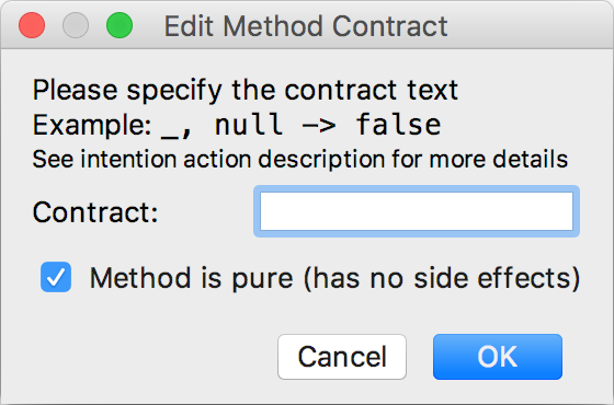 contract annotation lib1