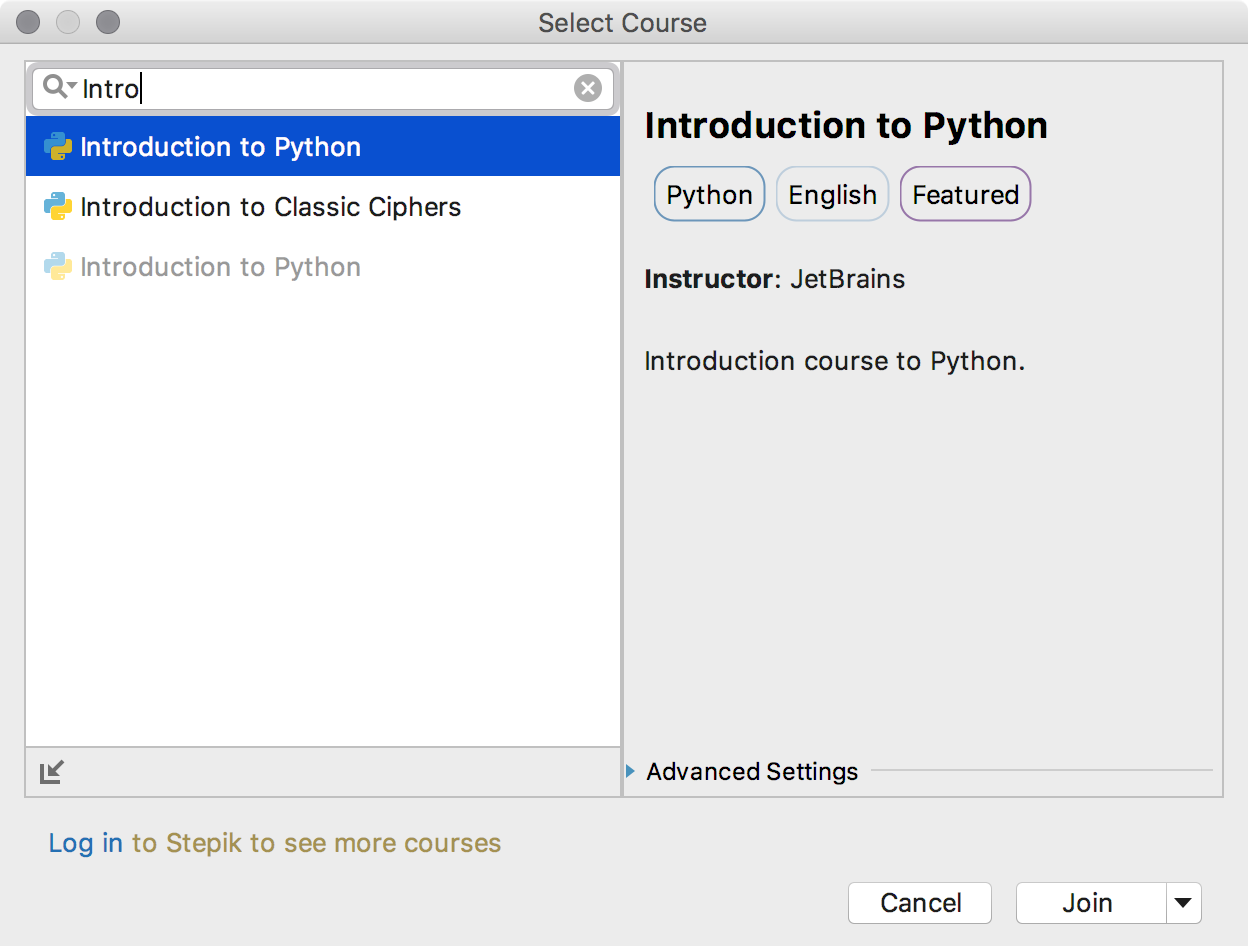 edu join course intro python