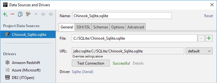 ijDBSQLiteConnectionSuccessful