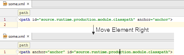move element1