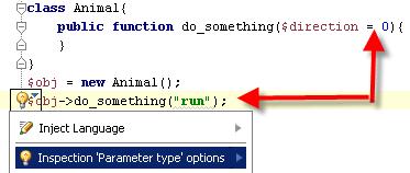 parameter type inspection