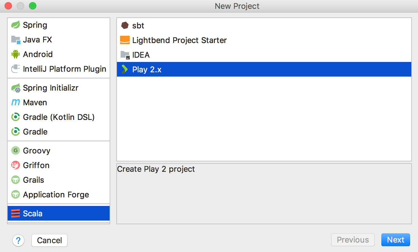 Getting Started with Play 2.x - Help | IntelliJ IDEA