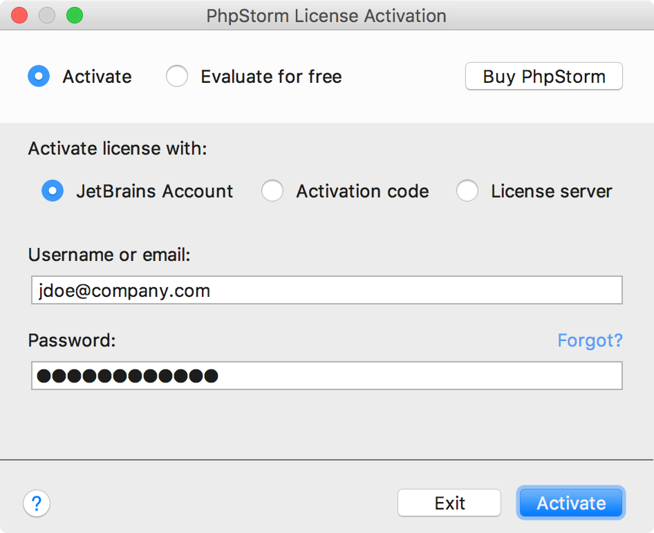 phpstorm 2017 activation code