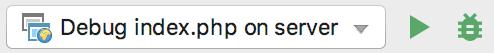 ps run js debugger toolbar