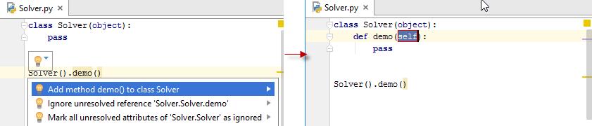 py create method in class