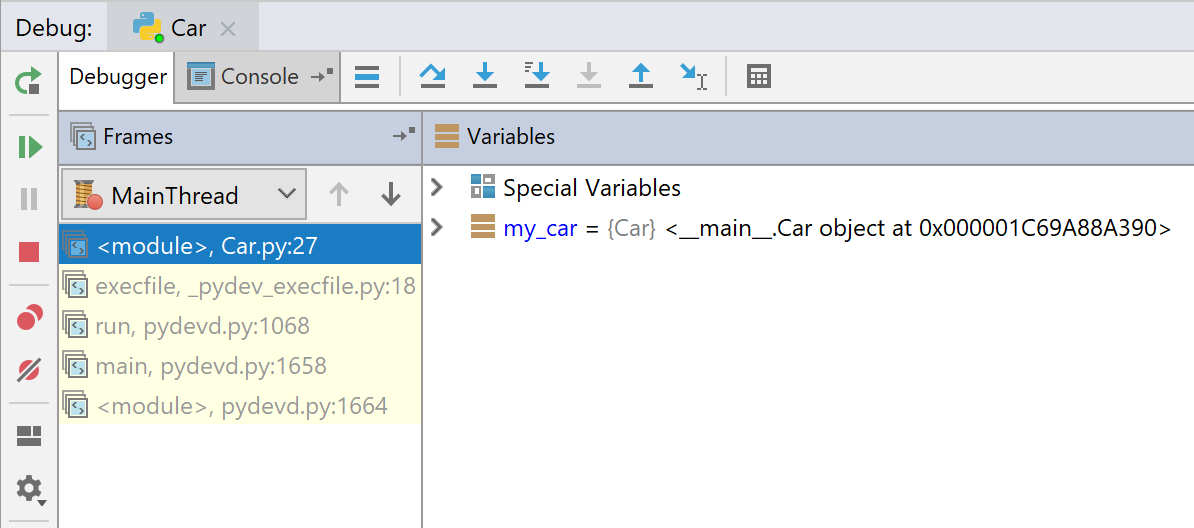 Step 2 Debugging Your First Python Application Help Pycharm
