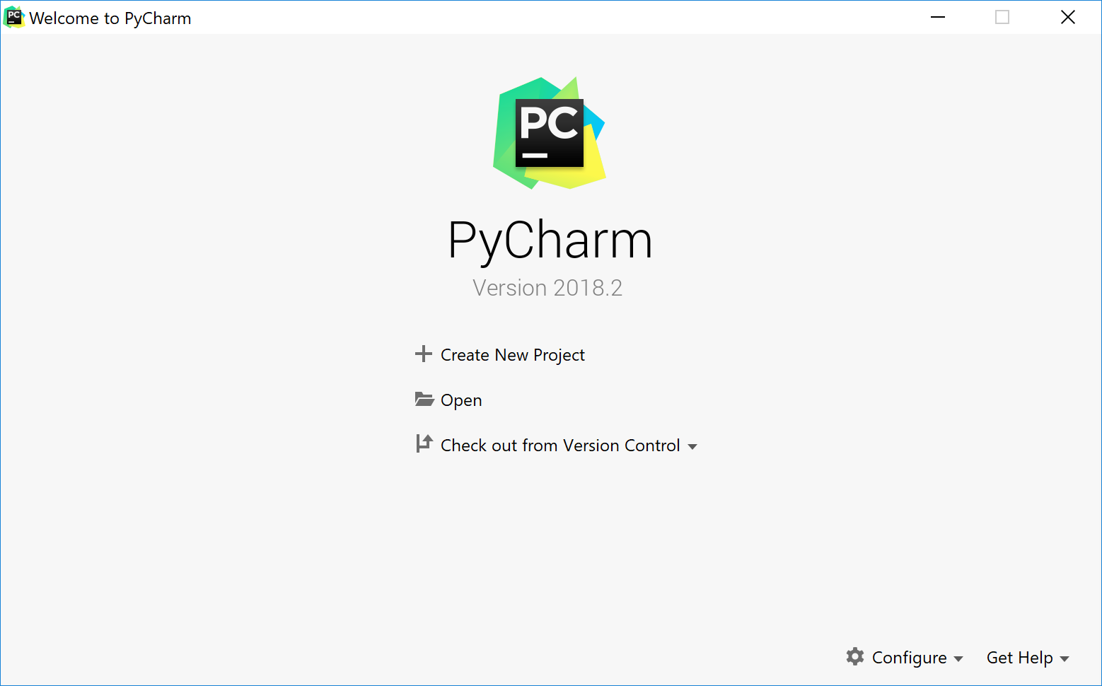 py welcomeScreen