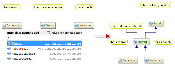 Adding Node Elements To Diagram Help Rubymine