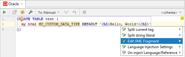 sql mydata xml injected