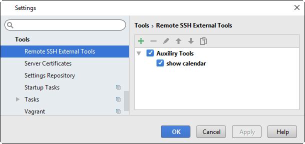 ssh external tools list