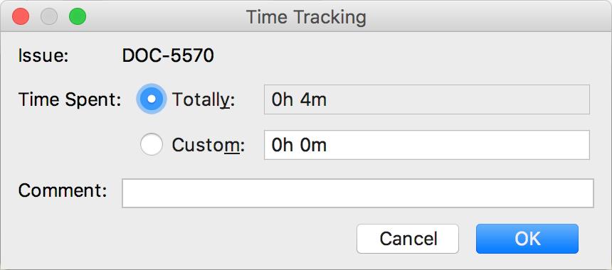 tasks pushing timelog