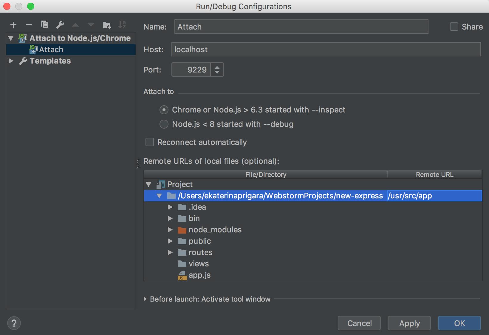 Specify Remote URLs of local files