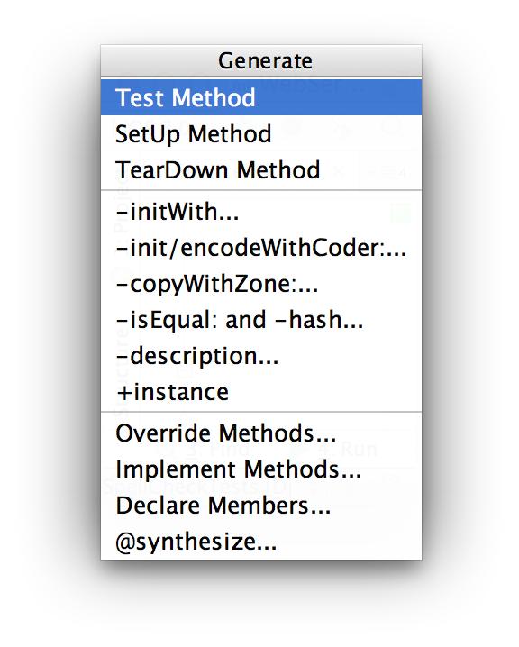 AppCode GenerateUT1