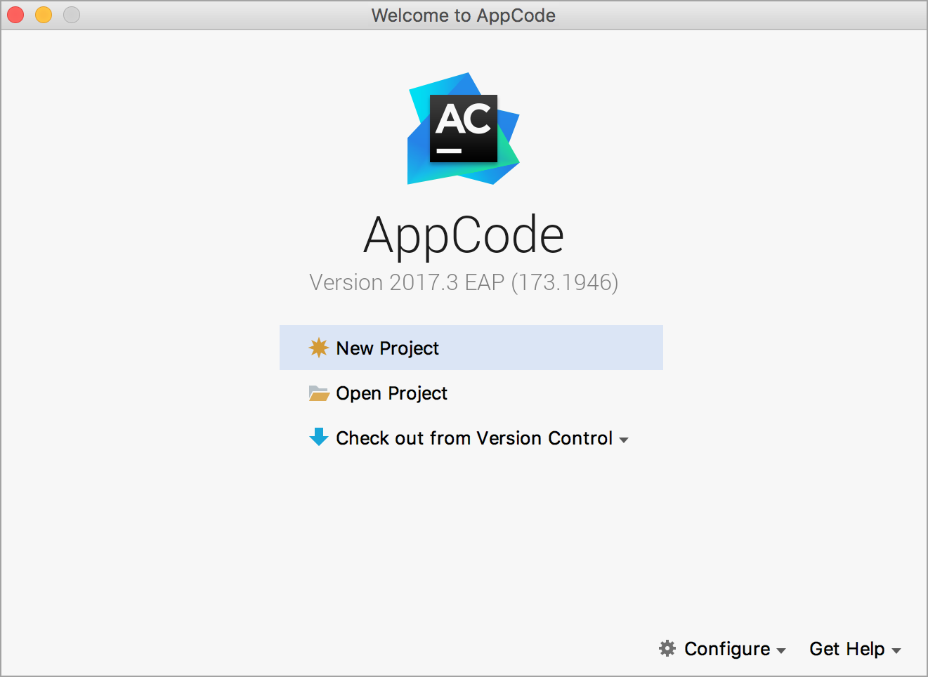 ac welcomeScreen