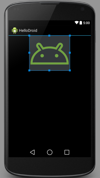 android ui designer drawable added