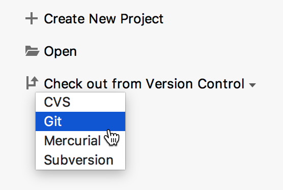 check out from version control