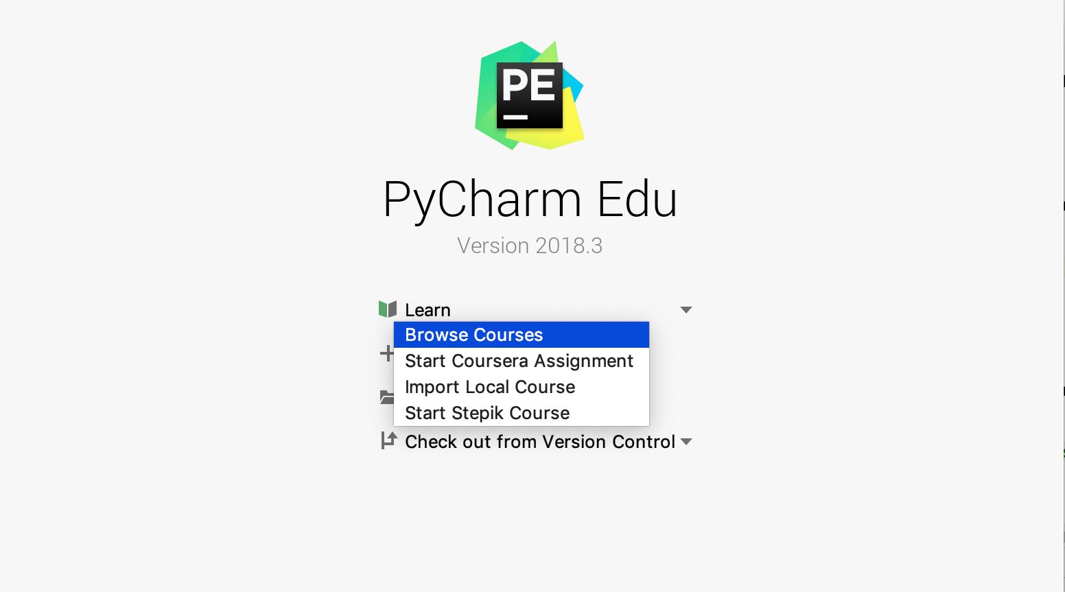 Browse courses