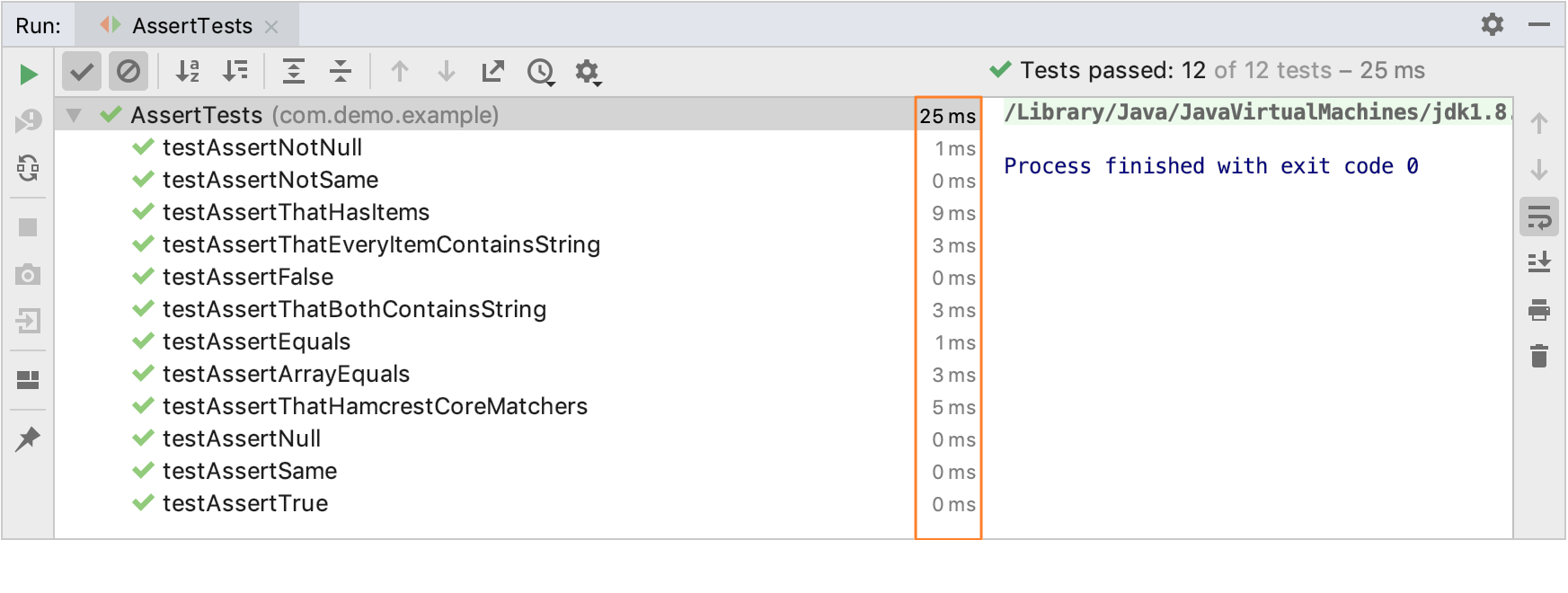 How to view results of JUnit 5 tests in IntelliJ 2019