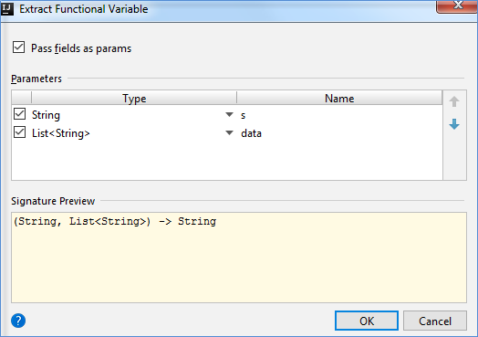 local variable and parameter