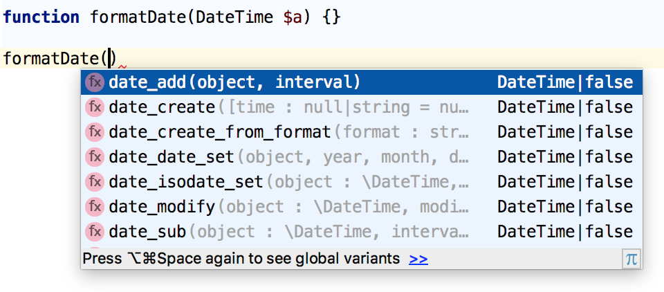 auto completing code and paths help phpstorm
