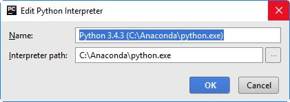 Configuring Python Interpreter - Help | PyCharm Edu