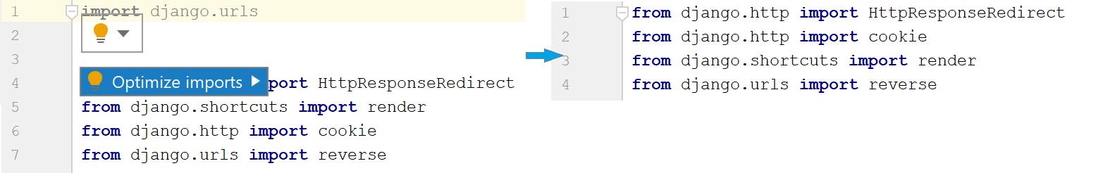 py optimize imports