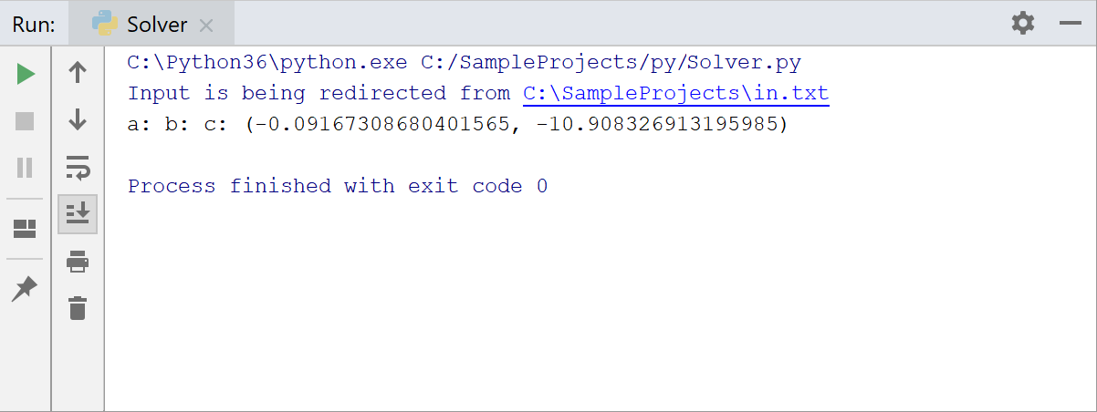 Redirecting data from a text file in standard input