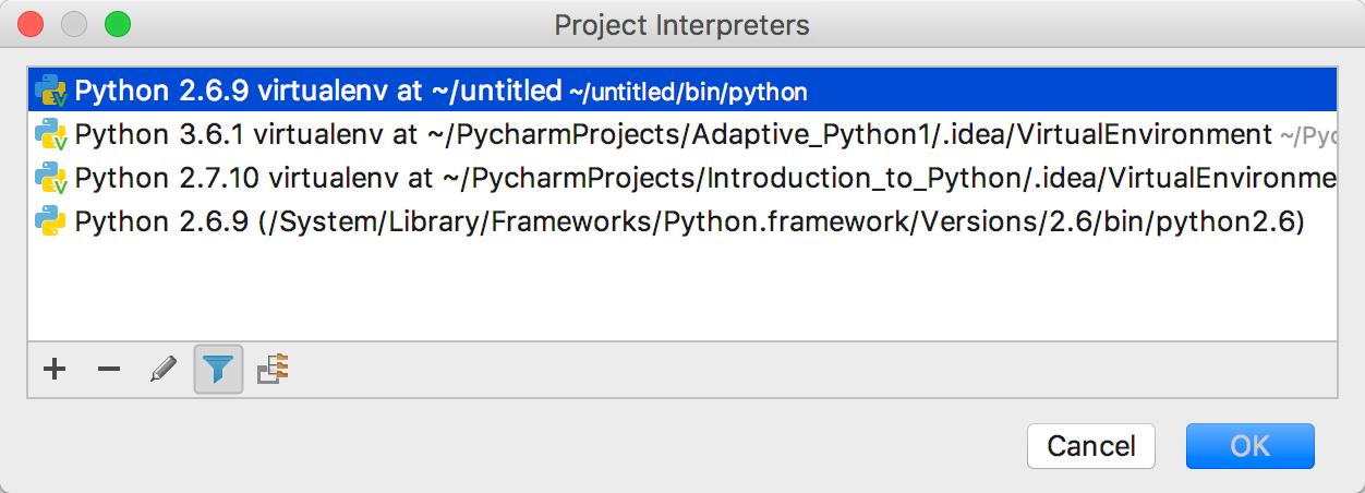 Configuring Python Interpreter - Help   PyCharm Edu