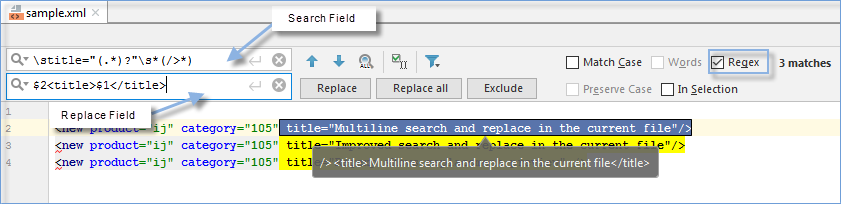 Find and replace a string using regular expressions - Help