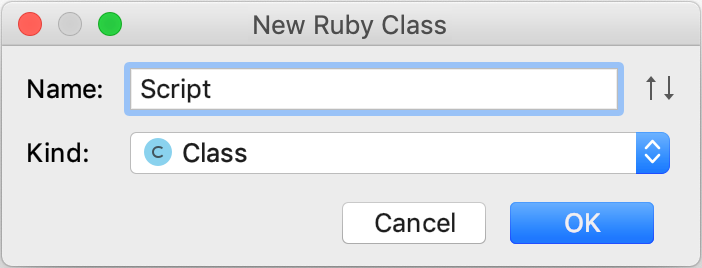 New Ruby Class