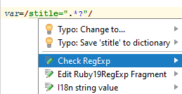 ruby check regexp