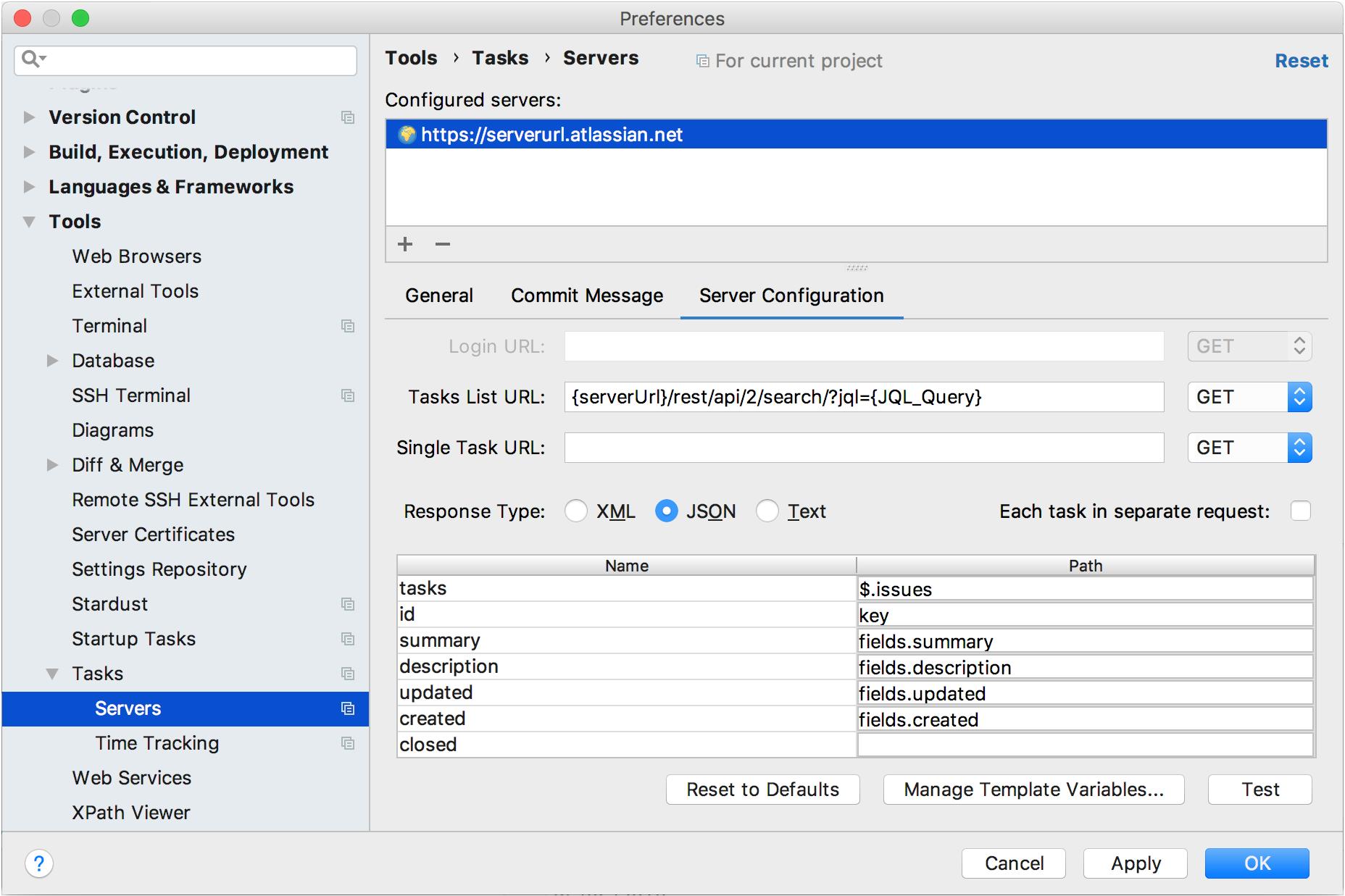 tutorial generic configuration selectors