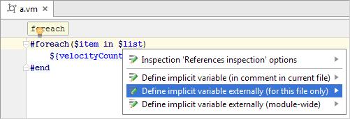 Template Languages Velocity And Freemarker Help Intellij Idea