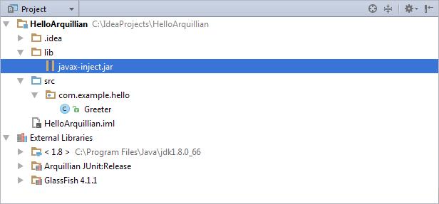 Arquillian: a Quick Start Guide - Help | IntelliJ IDEA