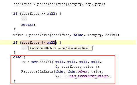 code locating