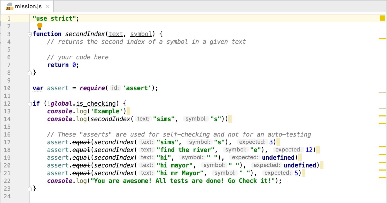 edu checkio code js