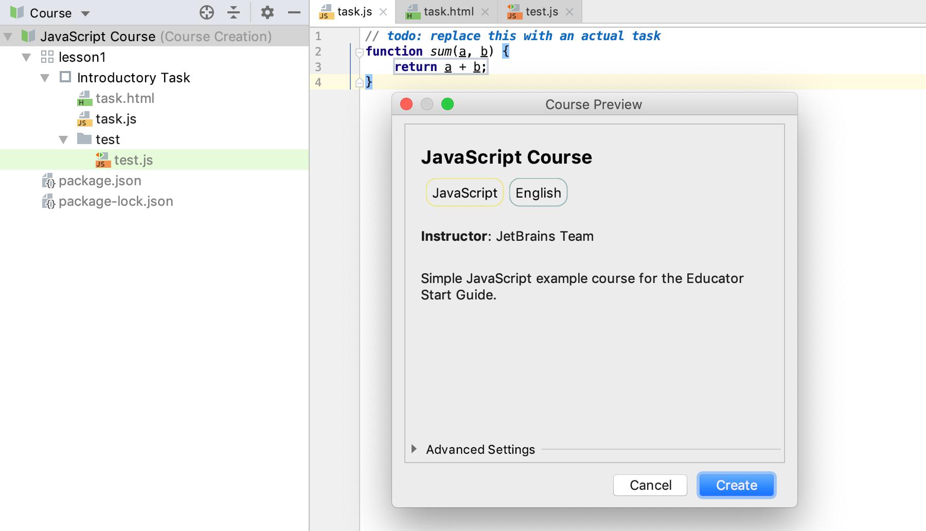 edu course preview js