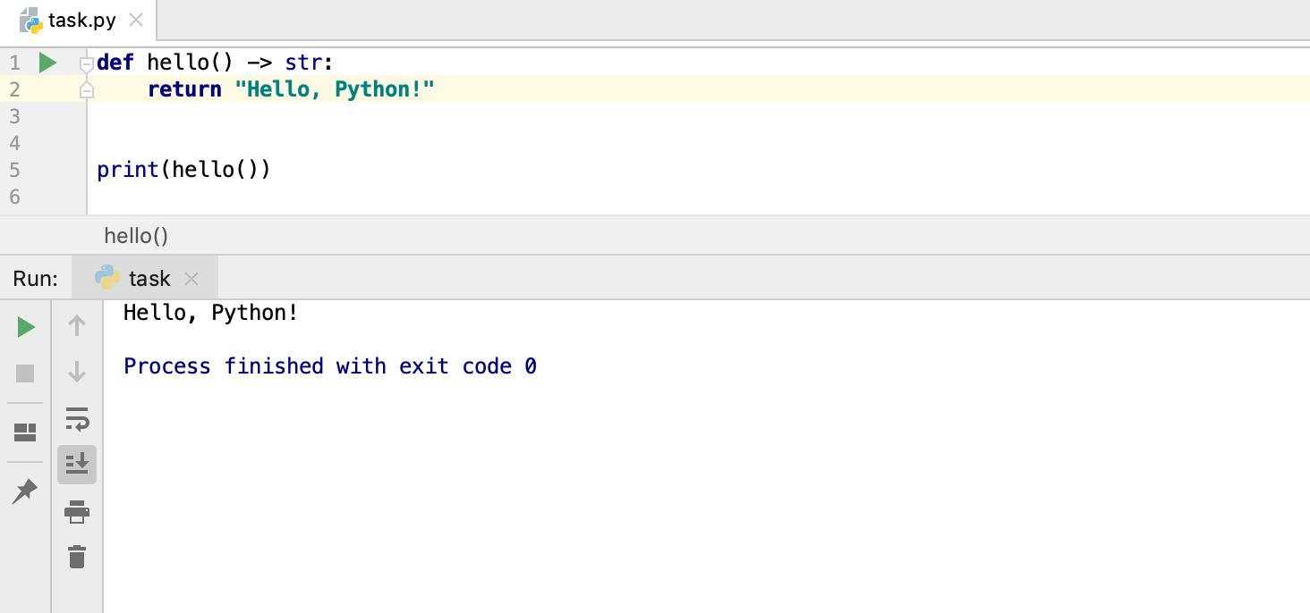 edu framework lesson run task python