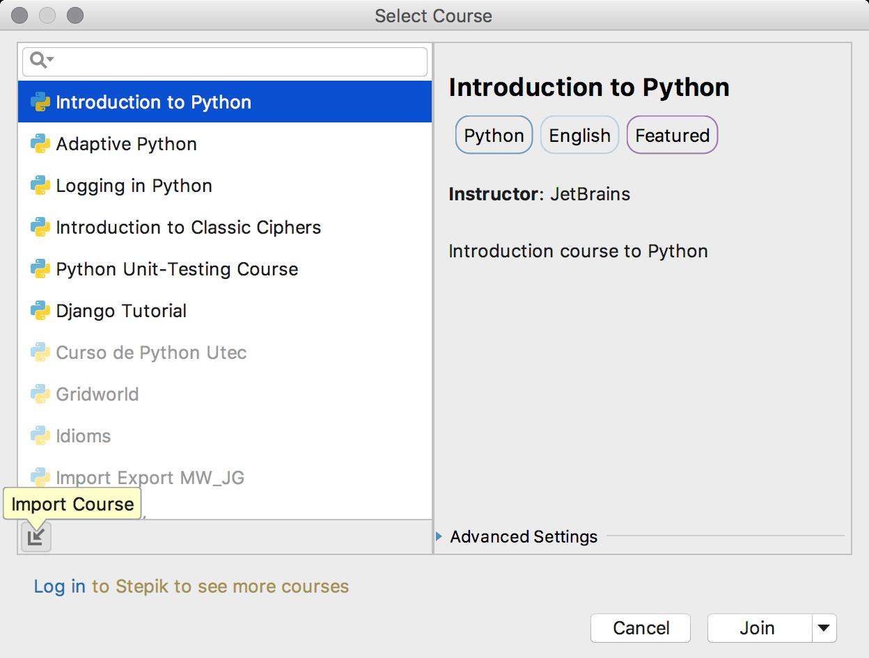 edu import course python