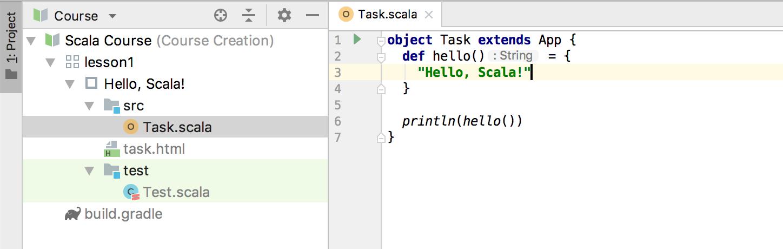 edu task code scala