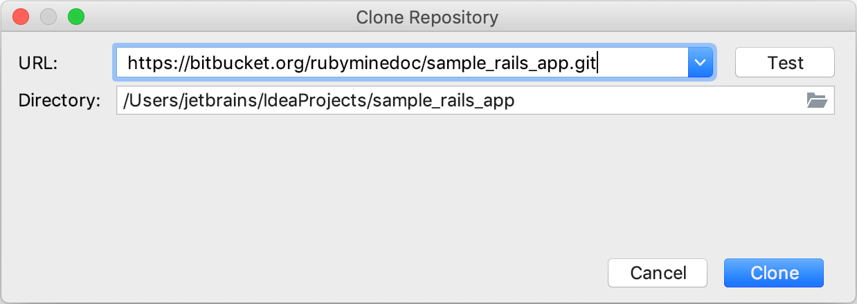 Opening And Running A Rails Project Help Intellij Idea