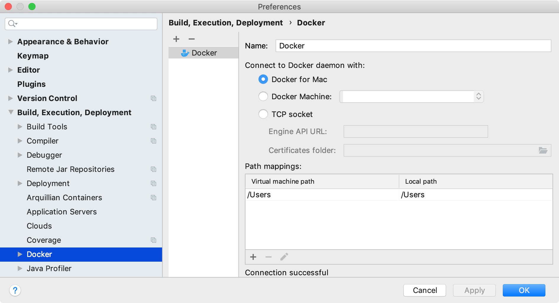 Docker - Help | IntelliJ IDEA