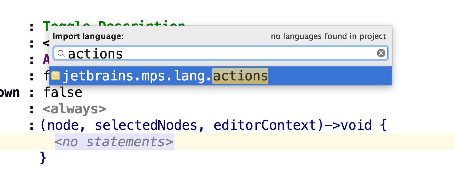 Adding an import statement