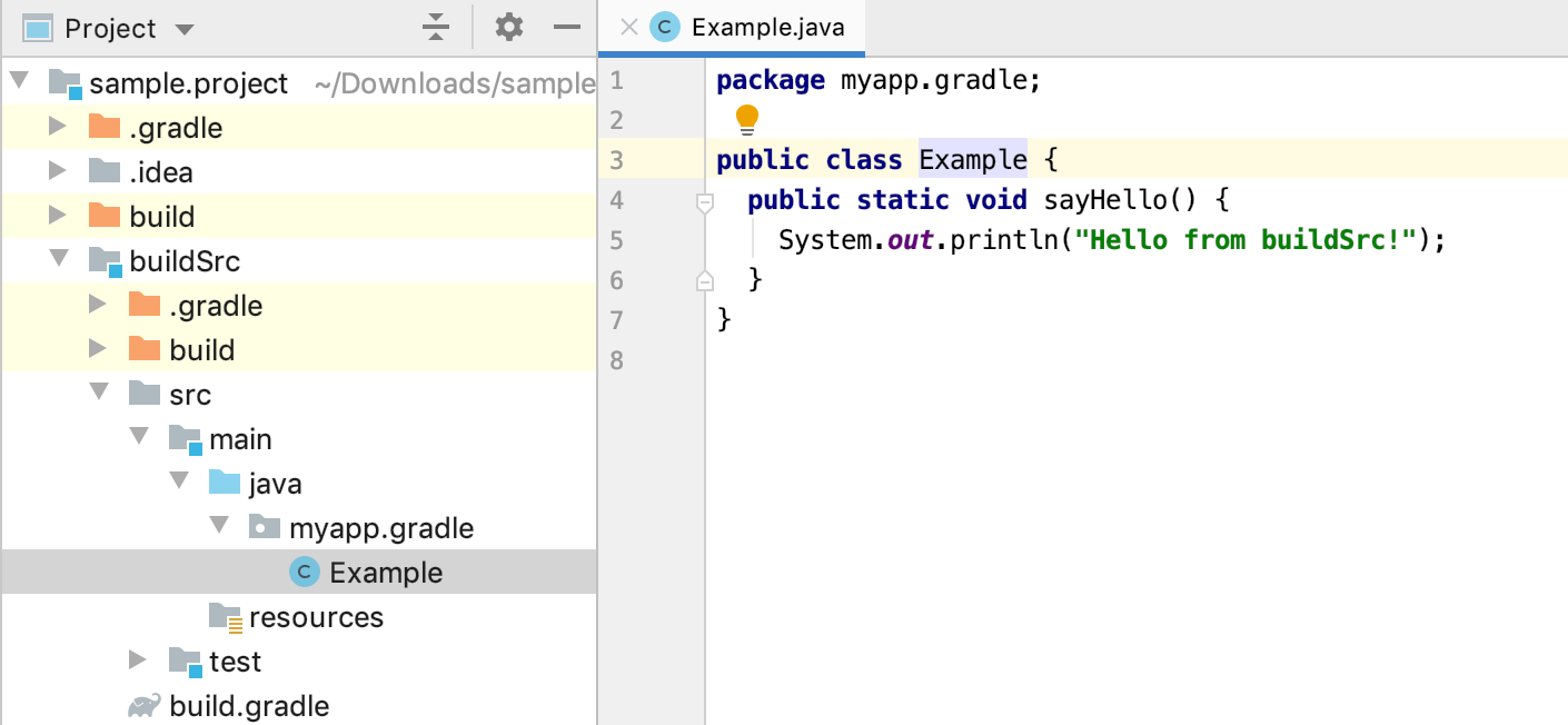Gradle projects - Help | IntelliJ IDEA