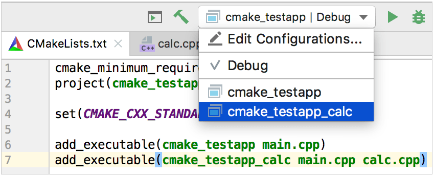 Quick CMake Tutorial - Help | CLion