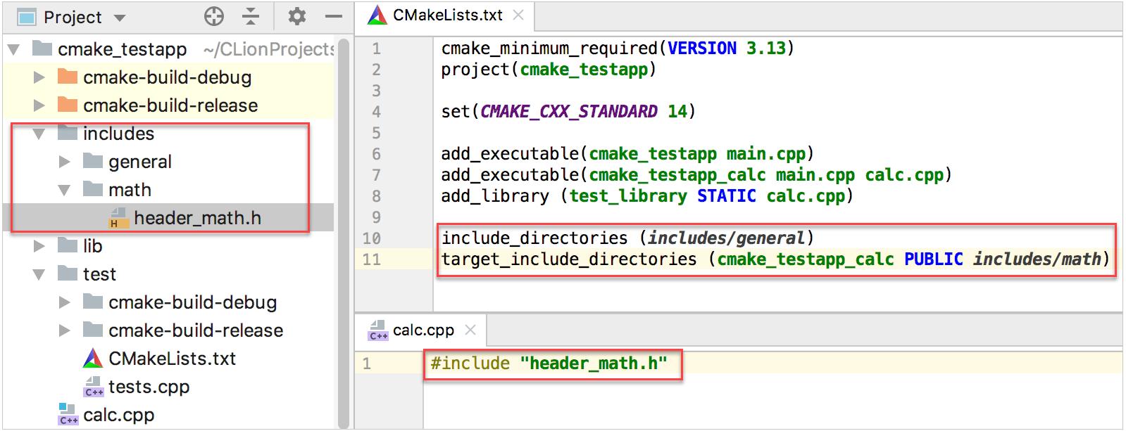 Quick CMake Tutorial - Help | CLion