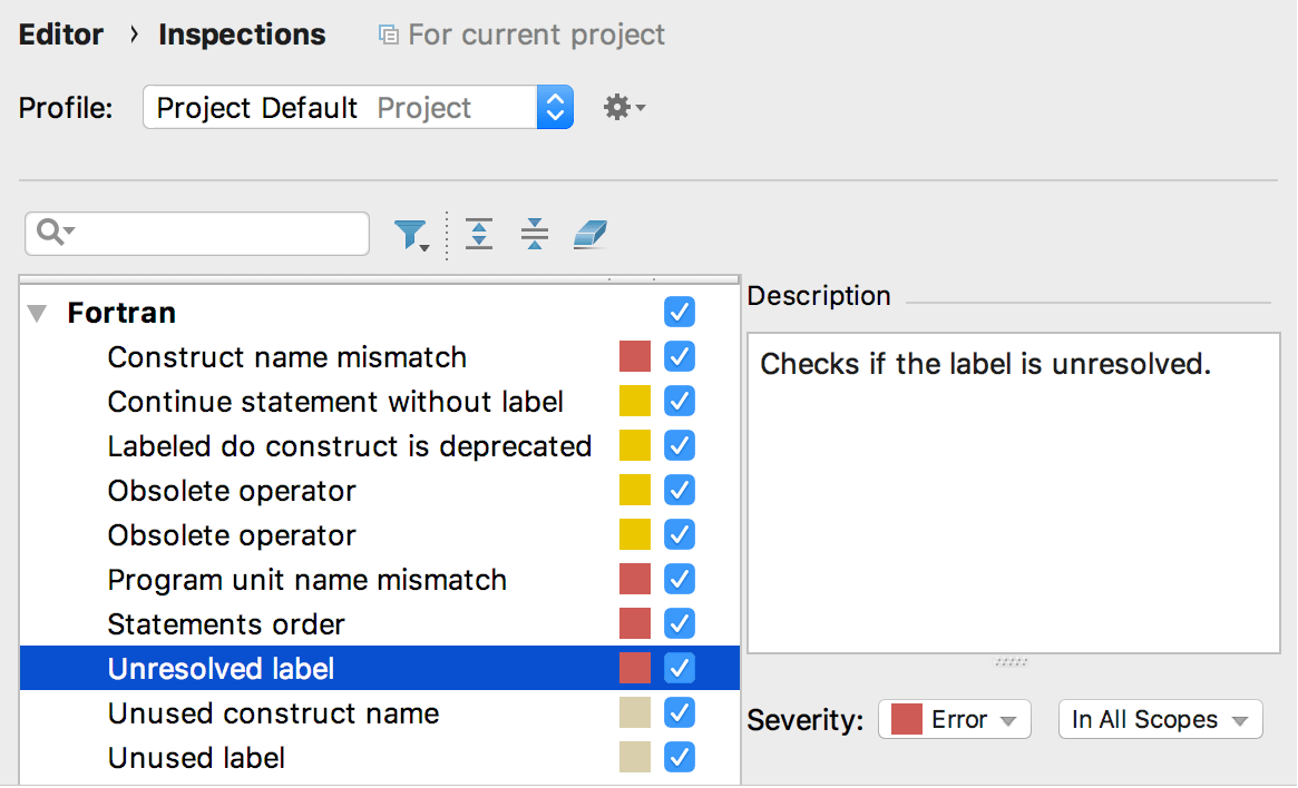Fortran - Help | CLion